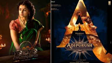 Alia Bhatt As Sita in RRR, Prabhas As Ram in Adipurush; A Look at Bollywood Drawing Inspiration From the Epics