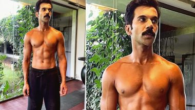 Roohi Star Rajkummar Rao Flaunts Washboard Abs in Recent Instagram Post