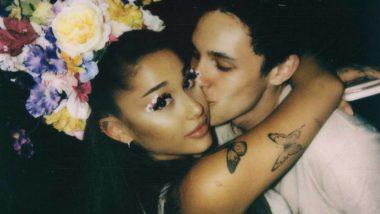 Ariana Grande Spends Night Out with Fiance Dalton Gomez in California