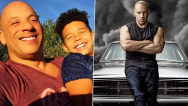 Vin Diesel's Son Vincent Sinclair to Make Acting Debut as Young Dominic Toretto in Fast And Furious 9