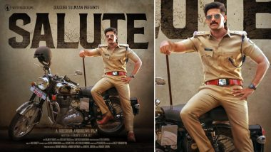 Salute First Poster: Dulquer Salmaan 'Embarrassingly' Shares His Cop Look From The Movie (View Pic)