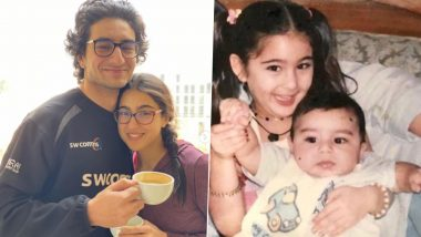Sara Ali Khan Wishes Ibrahim Ali Khan on His Birthday, Calls Him Iggy Potter (View Post)