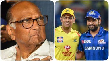 IPL 2021 Venues: BCCI Officials Reportedly Meet Sharad Pawar After NCP Leader Offers Full Support From Maharashtra Government For Hosting The Tournament