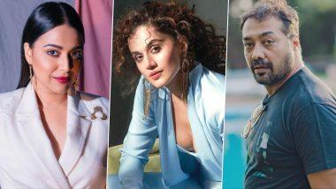 Swara Bhasker Posts 'Appreciation Tweets' for Taapsee Pannu, Anurag Kashyap Amid the Raid