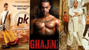 Aamir Khan Birthday: From PK to Dangal, a Look at Some Of The Best Looks From His Movies