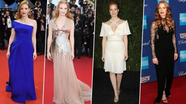 Jessica Chastain Birthday Special: Being Consistently Well-Dressed is Not a Choice But Hobby of Hers (View Pics)