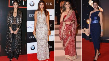 Shweta Bachchan Birthday Special: She's Poised and Her Fashion Choices are Perfect (View Pics)