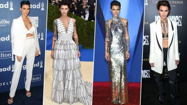 Ruby Rose Birthday Special: An Intimidating Persona That Works as a Catalyst For her Brave Fashion Choices (View Pics)