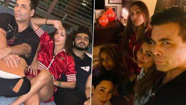 Arjun Kapoor, Malaika Arora Attend Cosy Get-Together with Karan Johar, Karisma Kapoor and More