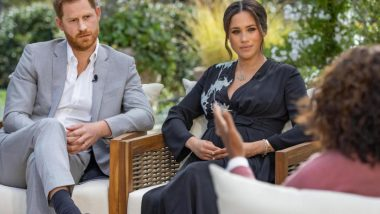 Oprah Winfrey Reveals She Was 'Surprised' by Meghan Markle's Racism Claims Against the Royal Family
