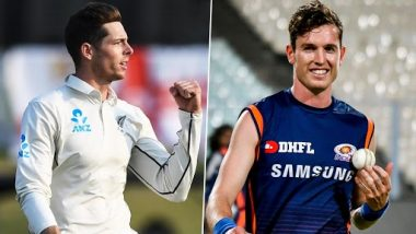 NZ vs AUS T20I Series 2021: Mitchell Santner Ruled Out of 3rd T20I, Adam Milne Joins As Cover