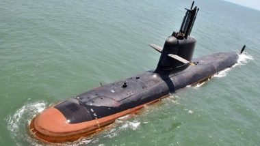 Indian Navy To Commission Third Scorpene-Class Submarine INS Karanj in Mumbai on March 10