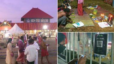 Mahashivratri 2021: Bali Tharpanam Ritual Practised on Banks of Periyar River Near Aluva Manappuram Mahadeva Temple in Kochi (See Pics)