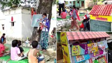 Madhya Pradesh: Teacher Runs Mobile School on Scooty for Rural Children in Sagar