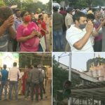 Ganesh Angarki Chaturthi 2021: Devotees Seen Praying Outside Shree Siddhivinayak Ganpati Temple in Mumbai, Darshan Allowed Only on Pre-Issued QR Codes (See Pics)