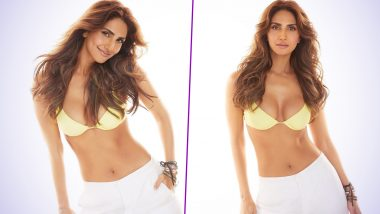 Vaani Kapoor Shares Her 'Warm Honey' Vibes As She Poses in a Yellow Bikini (View Pics)