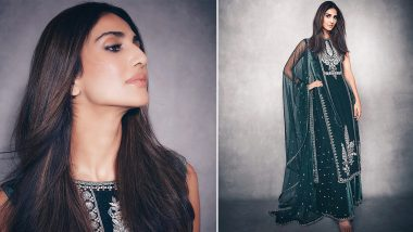 Yo or Hell No? Vaani Kapoor's Green Traditional Suit By Anita Dongre