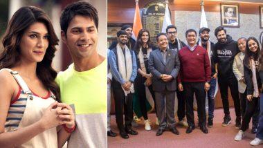 Bhediya: Varun Dhawan and Kriti Sanon Meet Arunachal Pradesh CM Pema Khandu Ahead of Their New Horror-Comedy Shoot