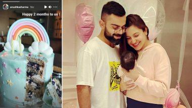 Virat Kohli And Anushka Sharma Celebrate Their Daughter Vamika's Two-Month Birthday (View Pic)