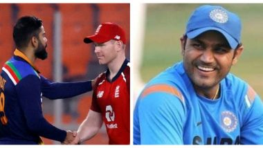 Virender Sehwag Hilariously Trolls England For Their Dismal Performance Against India in 1st ODI 2021