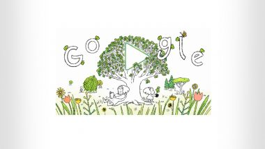 Earth Day 2021 Google Doodle: Search Giant Wishes Happy Earth Day via a Powerful Creative Encouraging People to 'Plant the Seed to a Brighter Future'