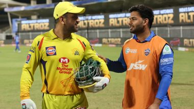 IPL 2021: It's MS Dhoni vs Rishabh Pant, Wicketkeeper Captains Clash As Chennai Super Kings Face Delhi Capitals in Match 2