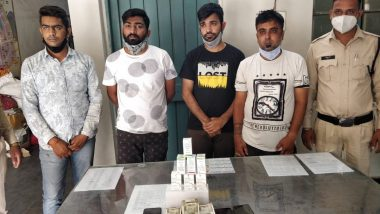 Remdesivir Black-Marketing Racket Busted by Chhattisgarh Police; 4 Arrested With Anti-Viral COVID-19 Drug in Raipur