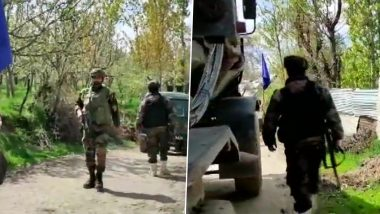Jammu And Kashmir: Encounter Breaks Out Between Terrorists And Security Forces in Shopian