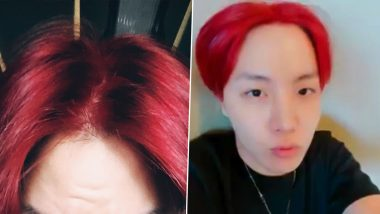 Did J-Hope Pull an April Fools' Day Prank by Colouring His Hair Red? K-Pop ARMY Floods Twitter with All Kinds of Reactions After BTS Member's Pics Go Viral