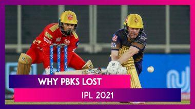 Punjab vs Kolkata IPL 2021: 3 Reasons Why Punjab Lost