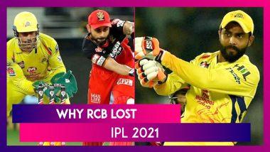 Chennai vs Bangalore IPL 2021: 3 Reasons Why Bangalore Lost