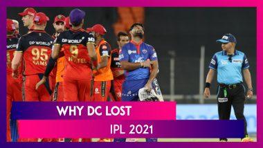 Delhi vs Bangalore IPL 2021: 3 Reasons Why Delhi Lost