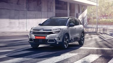 2021 Citroen C5 Aircross SUV Launching Today in India, Watch LIVE Streaming Here