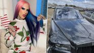 'It Saved Our Lives,' Jeffree Star Shares Scary Photos of Wrecked Rolls Royce Following Wyoming Car Accident