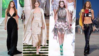 Gigi Hadid Birthday: Runway Looks of the Supermodel That are Sexy AF (View Pics)