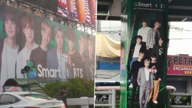 Smart X BTS Posters & Billboards Go Viral as ARMY Share Pics and Videos of Their Favourite K-Pop Band