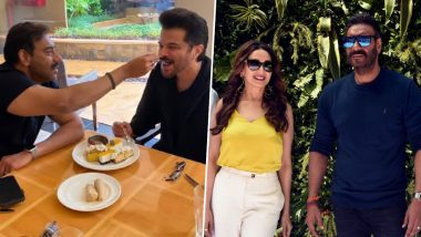Ajay Devgn Turns 52! From Anil Kapoor to Madhuri Dixit, Bollywood Stars Extend Birthday Greetings For the Singham Star