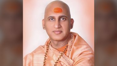 Kumbh 2021: Swami Avdheshanand Giri Requests People to Not Come in Large Numbers for Snan, Follow Rules Amid Spike in COVID-19 Cases