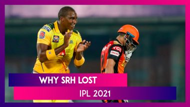 Chennai vs Hyderabad IPL 2021: 3 Reasons Why Hyderabad Lost