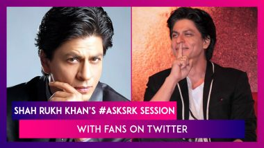 Shah Rukh Khan's #AskSRK Session With Fans On Twitter: King Khan's Witty Replies Just Cannot Be Missed