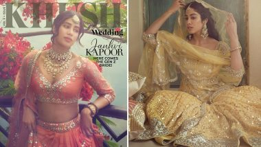 Janhvi Kapoor Looks Resplendent In Her Pictures from New Magazine Photoshoot