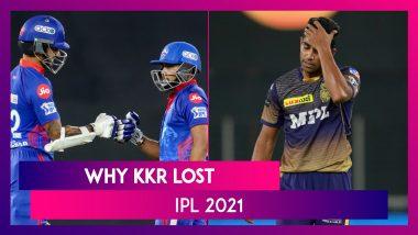 Delhi vs Kolkata IPL 2021: 3 Reasons Why Kolkata Lost