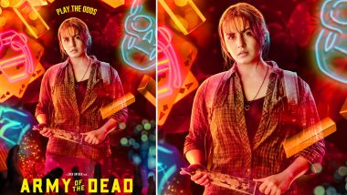 Army of the Dead: Huma Qureshi Gets Her Own Poster, Zack Snyder Reveals Her Character Name