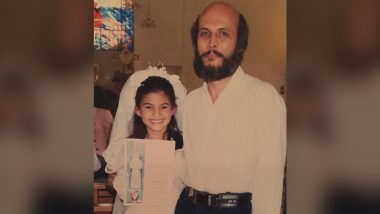 Jacqueline Fernandez Wishes Her Father With an Adorable Throwback Picture on His Birthday (View Pic)