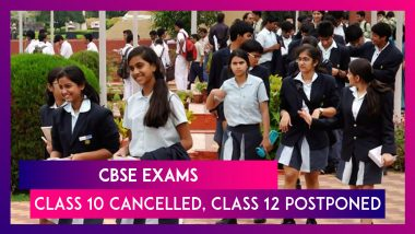 CBSE Exams: Board Exams For Class 10 Cancelled, Class 12 Papers Postponed Amid Rising Covid-19 Cases