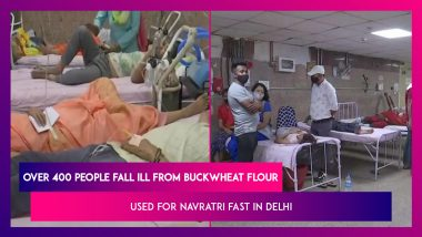 Delhi: Over 400 People Fall Ill After Eating Buckwheat Flour During Navratri Fast In Kalyanpuri