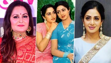 Jaya Prada Recalls an Amusing Incident Involving With Late Superstar Sridevi While Shooting for the Film 'Maqsad'