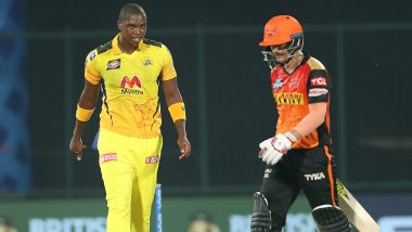 CSK vs SRH IPL 2021 Stat Highlights: David Warner Reaches Major Milestones Despite Chennai Super Kings' Seven-Wicket Win
