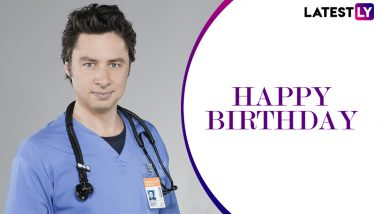 Zach Braff Birthday Special: 10 Funny and Inspiring Quotes of The Actor From Scrubs