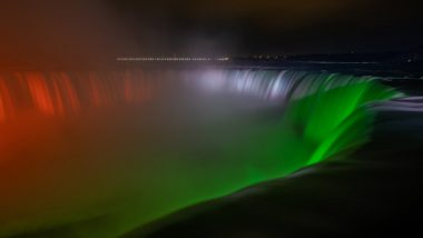 Niagara Falls Illuminated in Colours of Indian Flag As India Fights Second Covid-19 Wave